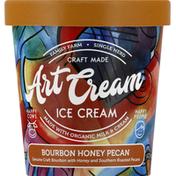 Art Cream Ice Cream, Bourbon Honey Pecan