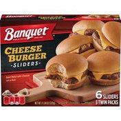 Banquet Cheeseburger Sliders Twin Pack