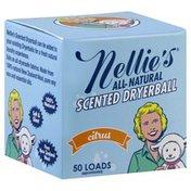 Nellies Dryerball, Scented, Citrus
