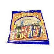 Boston Whole Wheat Tortillas