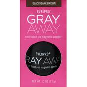 Everpro Magnetic Powder, Root Touch-Up, Black/Dark Brown