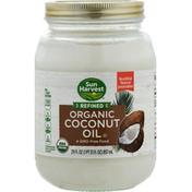 Sun Harvest Coconut Oil, Organic, Refined