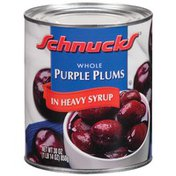 Schnucks Whole In Heavy Syrup Purple Plums