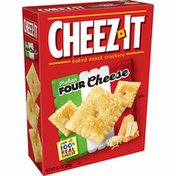 Cheez-It Cheese Crackers, Baked Snack Crackers, Italian Four Cheese