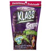 Klass Drink Mix, Grape, Pouch