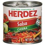 Herdez Casera Salsa