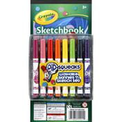 Crayola Washable Skinnies 'N Sketch Set