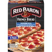 Red Baron French Bread Singles Pepperoni Pizza