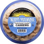 Klein's Naturals Cashews, Freshly Roasted, Unsalted