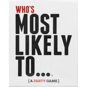 Who's Most Likely To... A Party Game,  Ages 17+