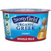 Stonyfield Organic Whole Milk Honey Organic Yogurt