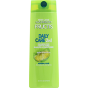 Garnier Fructis Shampoo & Conditioner, 2 in 1, Fortifying, Daily Care, Normal Hair