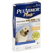 PetArmor Plus, Dogs, 89-132 lbs, Flea Eggs, Liquid, Applicator, Box