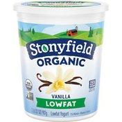 Stonyfield® Organic Vanilla Lowfat Yogurt