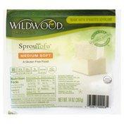 Wildwood Tofu, Organic, Medium Soft