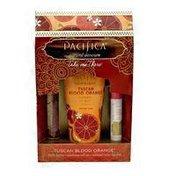 Pacific Skincare Set, Natural, Take Me There, Tuscan Blood Orange