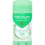 Mitchum Deodorant, Eucalyptus Scent, Women, Invisible Solid
