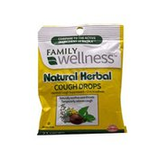 Family Wellness Natural Herbal Cough Drops
