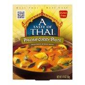 A Taste of Thai Panang Curry Paste