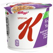 Kellogg's Special K Breakfast Cereal Cup, 11 Vitamins and Minerals, Made with Fiber and Iron, Fruit and Yogurt