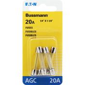 Bussmann Fuses, AGC, 20A