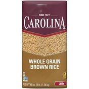 Carolina Whole Grain Brown Rice