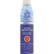 Equaline Sunscreen, Continuous Spray, SPF 30