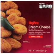 Hy-Vee Jalapenos Stuffed With Cream Cheese And Coated In A Breading