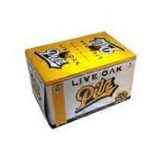 Live Oak Brewing Company Pilz Beer