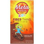 Metamucil KIDS Fiber Thins, Psyllium Husk Fiber Supplement, Digestive Health