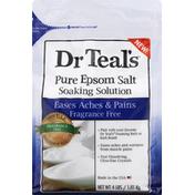 Dr. Teal's Epsom Salt, Pure, Fragrance Free