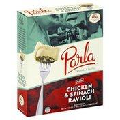 Parla Ravioli, Grilled Chicken & Spinach