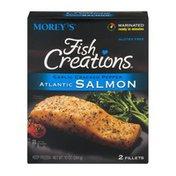 Morey's Fish Creations Garlic Cracked Pepper Atlantic Salmon Fillets - 2 CT