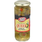 Shurfine Queen Olives Stuffed With Minced Pimiento