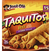 José Olé Shredded Steak Corn Taquitos