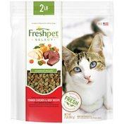 Freshpet Chicken & Beef Roasted Meals Fresh Cat Food