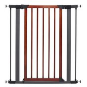 """Midwest Homes for Pets 38"""" x 39"""" Steel & Wood Pet Gate"""