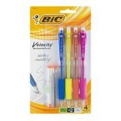 BiC Velocity Mechanical Pencils #2 Medium - 4 CT