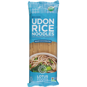 Lotus Foods Rice Noodles, Udon, Brown