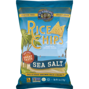 Lundberg Family Farms Rice Chips Sea Salt