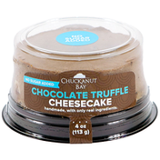 Chuckanut Bay Foods No Sugar Added Chocolate Truffle Mini Cheesecake