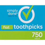 Simply Done Flat Toothpicks