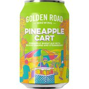 Golden Road Brewing Pineapple Cart Wheat Ale