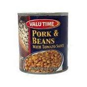 Valu Time Pork & Beans