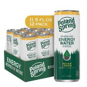 Poland spring Sparkling Energy Water Beverage Meyer Lemon Flavor