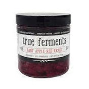 True Ferments Tart Apple Red Kraut