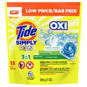 Tide Simply Pods +Oxi Liquid Laundry Detergent Pacs, Daybreak Fresh
