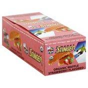 Honey Stinger Waffle, Organic, Strawberry Flavored