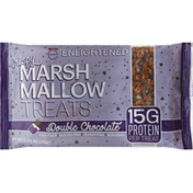 Enlightened Treats, Crispy Marshmallow, Double Chocolate
