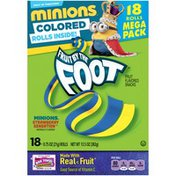 Betty Crocker Fruit by the Foot Minions Strawberry Sensation Fruit Flavored Snacks
